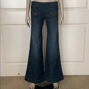SAMPLE! Dittos 70's Inspired Disco Flare Jeans